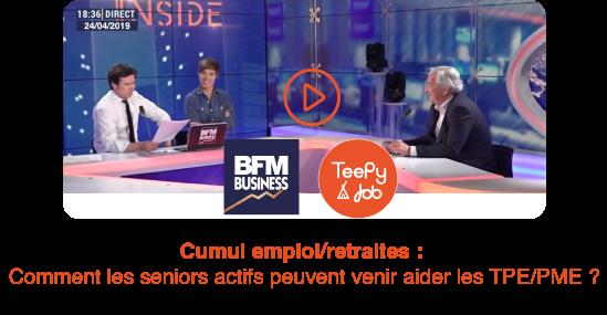 TeePy Job sur BFM Business