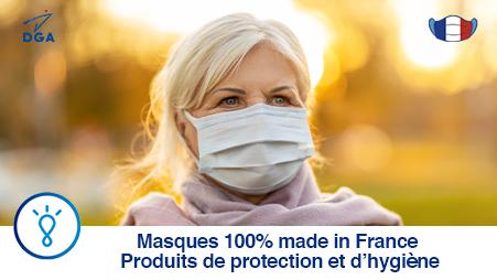Masques 100% Français