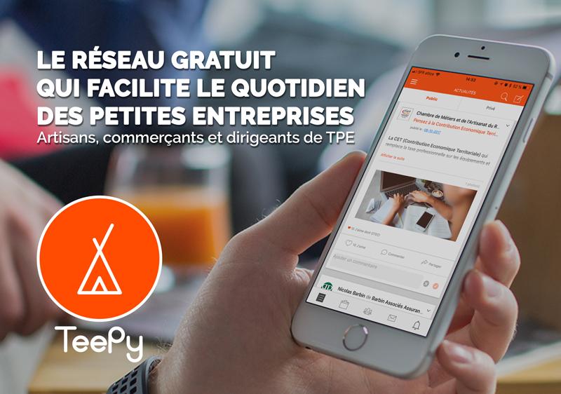 rejoindre TeePy entrepreneur